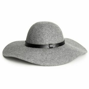 H&M Grey Floppy Hat